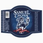 Samuel Crow Redwood Original Lager (Label) by LocoRoboCo