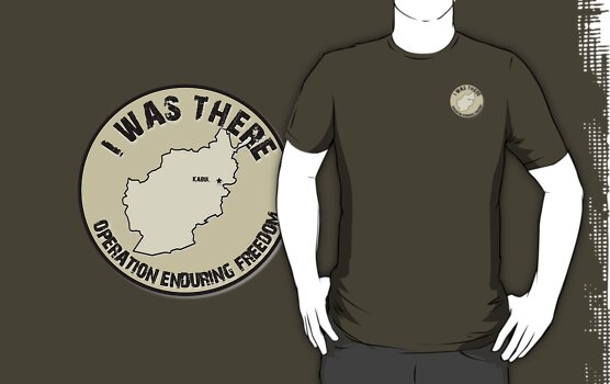 I Was There - Operation Enduring Freedom by SandSquid