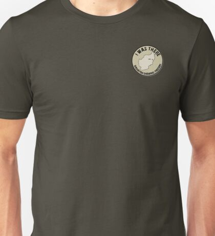 I Was There - Operation Enduring Freedom Unisex T-Shirt