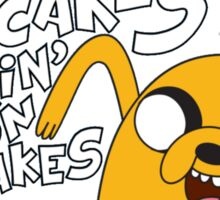 Adventure Time - Jake | Fanart Sticker