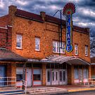 The Palace Theater in Spur, Texas by Terence Russell
