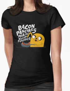 Adventure Time - Jake | Fanart Womens Fitted T-Shirt