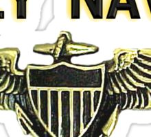 Naval Aviator Wings - Fly Navy Sticker