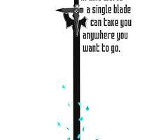 SAO: A single blade by Tru7h