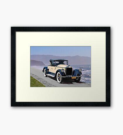 1925 Pierce-Arrow 80 Runabout Framed Print