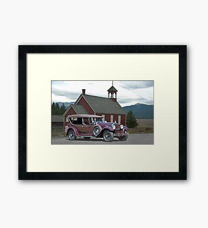 1929 Packard 640 Touring Car Framed Print