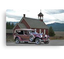 1929 Packard 640 Touring Car Canvas Print