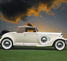 1933 Packard 12 Convertible by DaveKoontz