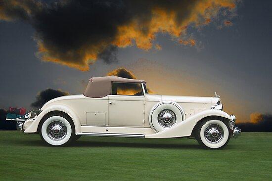 1933 Packard 12 Convertible by DaveKoontz
