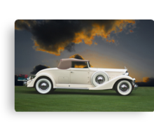1933 Packard 12 Convertible Canvas Print