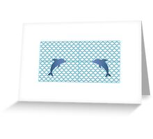 Scales | Dolphin Greeting Card