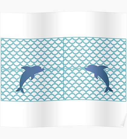 Scales | Dolphin Poster