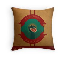 Fight The Power Throw Pillow
