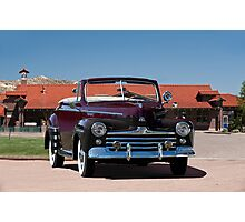 1947 Ford Super Deluxe Convertible Photographic Print