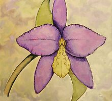 Orchid by Yewbert