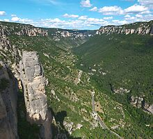 Gorges de la Jonte, France by LaurentS