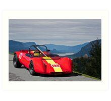 1965 Lotus 23 Vintage Race Car Art Print