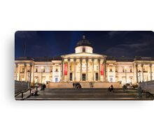 The National Gallery on Trafalgar Square, London Canvas Print