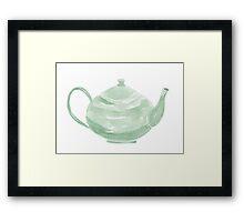 Teapot - No Text - Custom Framed Print