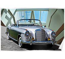 1960 Mercedes-Benz 220SE Cabriolet Poster