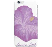 Lauren Fitch Hibiscus Phone Case iPhone Case/Skin