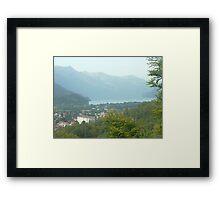 Interlaken's Hidden Beauty Framed Print