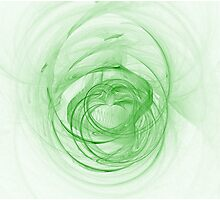 Fractal 19 - Easterly Love Photographic Print