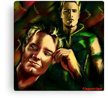 Justin Hartley Canvas Print
