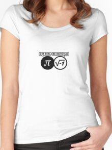 Get Real - Be Rational VRS2 Women's Fitted Scoop T-Shirt