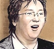 Masi Oka miniature by wu-wei