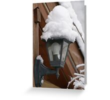 Snow, snow... Greeting Card