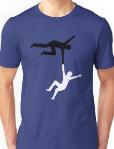 Falling Men Unisex T-Shirt