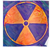 distorded nuke sign 2 Poster