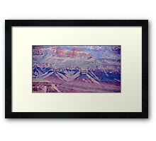 Sheba & Soloman Temples - Grand Canyon Framed Print