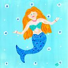 Whimsical Mermaid by lemondaisy