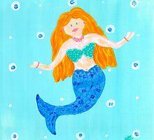 Whimsical Mermaid by lemondaisy