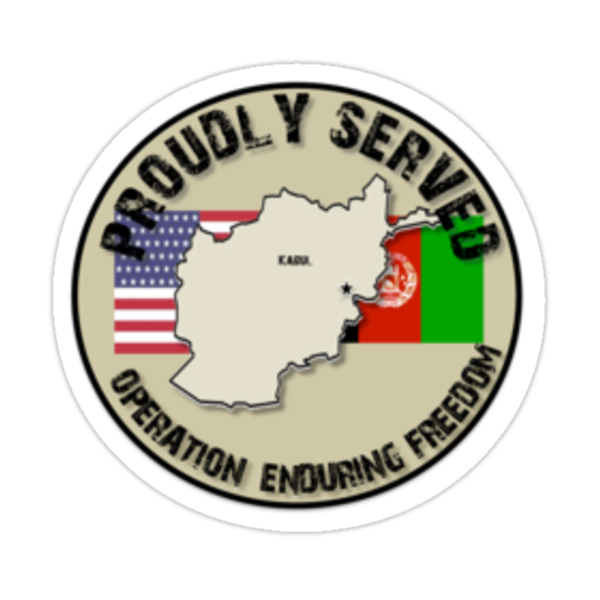 Proudly Served - OEF by SandSquid