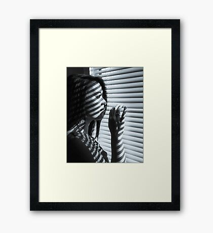 Where are you? Framed Print