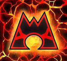 Team Magma Logo by webchow