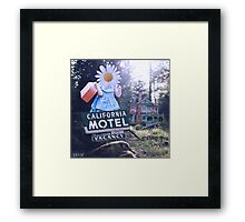 1000th guest Framed Print