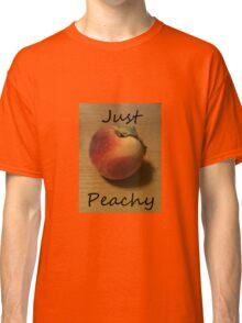 Just Peachy Peach Photo Classic T-Shirt