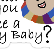Would You Like A Jelly Baby? Sticker