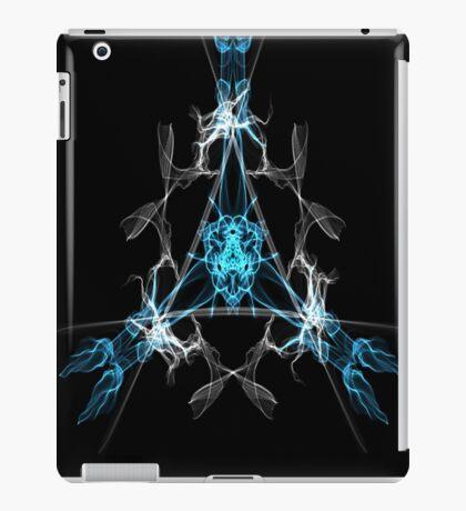 Blue & Grey Triangle  iPad Case/Skin