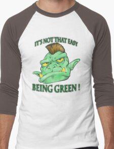 It's not that easy being green! Men's Baseball ¾ T-Shirt