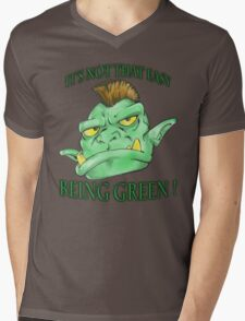 It's not that easy being green! Mens V-Neck T-Shirt