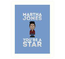 Mini Martha Jones Art Print