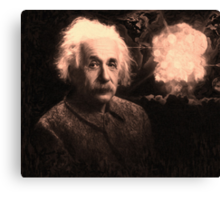 Einstein 2 Canvas Print