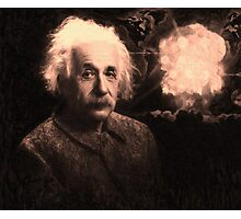 Einstein 2 Photographic Print