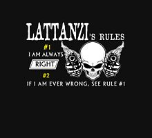 LATTANZI Rule #1 i am always right. #2 If i am ever wrong see rule #1 - T Shirt, Hoodie, Hoodies, Year, Birthday T-Shirt