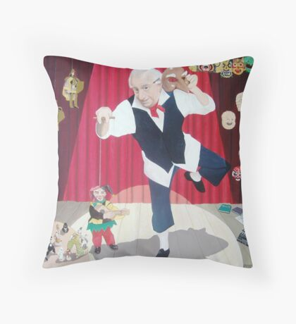 Portrait of Narcy  Throw Pillow